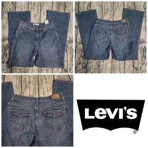 Levi's Perfectly Slimming 512 Bootcut Flare Jeans